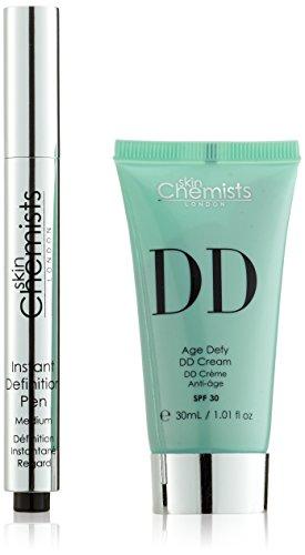 skinChemists Crème Rajeunissante Age Defying DD Cream Medium et Instantané Définition Pen Medium