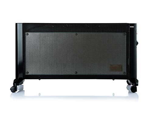 Domo DO7346M - Calefactor (Interior, Piso, Pared, Negro, Gir