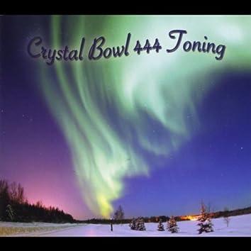 Crystal Bowl 444 Toning