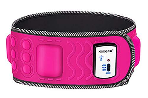 Cinturon Adelgazante,Musculacicón Cinturón Electro Estimulador Para Zona Abdominal, Masajeador De Cinturón De Adelgazamiento Vibratorio Eléctrico,Cinturón De Sauna De Red-5Motor mechanical switch