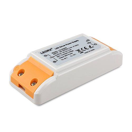 LEORX LED TRAFO 12V DC, 0-36W max. 3A, LED Treiber/Driver/Transformer 12V stabilisierte Spannungsquelle für LED Lichtstreifen, Schrank Licht, LED-Anzeige, Deck Licht, LED Display, MR16, G4, MR11