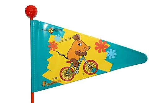 Bikefashion Sicherheitswimpel Fahrradwimpel Die Maus, 885155