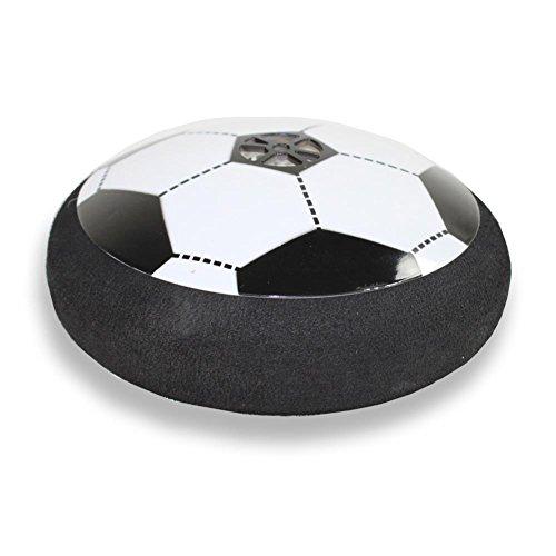 HC Handel 916861 Fliegender Fußball Ø 14 cm schwebende Fußballscheibe Fußball Scheibe