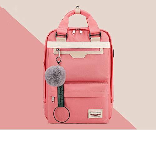 Mode rucksack casual rucksack mädchen rucksack teen rucksack rucksack rosa schultasche