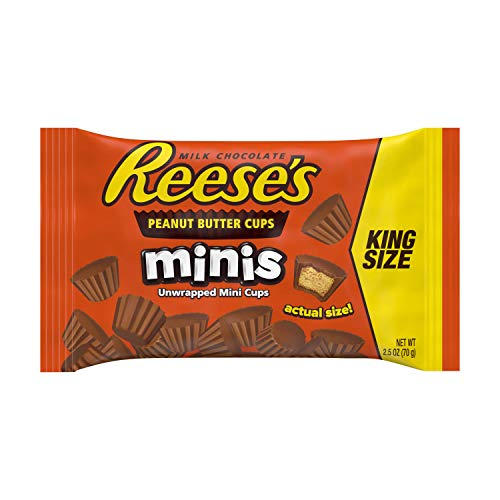 Reese's Peanut Butter Cups Minis King Size 2.5 oz (70 g)