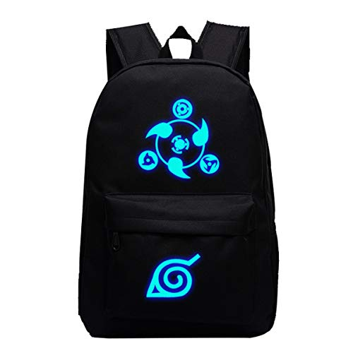 CTOOO Jugend Unisex Naruto Rucksack Männer Und Frauen Mittelschüler Tasche Paar Anime Casual Canvas Rucksack