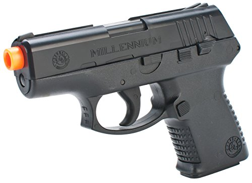 Taurus Millennium PT-111 Spring Powered Airsoft Pistol, Black, 180 FPS