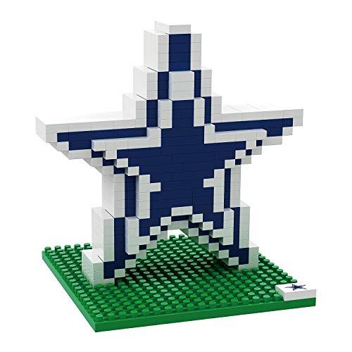 Dallas Cowboys NFL Football Team 3D BRXLZ Logo Puzzle