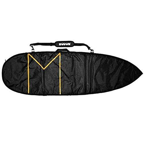 Modom 6'8 Streamliner - Bolsa para tabla de surf (8 mm), color negro y naranja