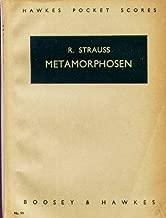 Metamorphosen. Studie für 23 Solostreicher, etc. [Score.] (Hawkes Pocket Scores)