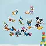 Mickey Maus Donald Duck Wandaufkleber Für Kinderzimmer