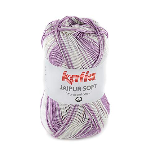 Katia Jaipur Soft Farbe 103, Lacegarn Baumwolle mit Farbverlauf