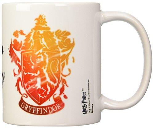 Harry Potter - Taza Gryffindor Stencil Crest, 320ml