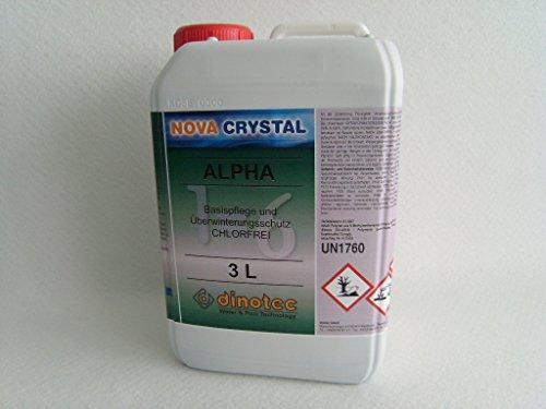 dinotec Nova Crystal chlorfreie Wasserpflege Alpha 3,0 l (Preis je l / 35,00 EUR)