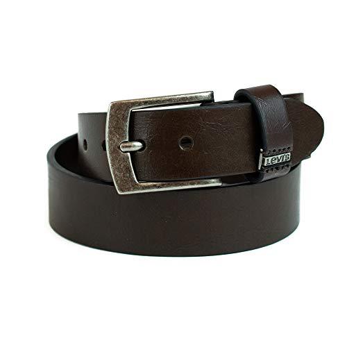 Levi's Big Boys Levi's Boys Casual Belt With Double Belt Loop, Brown, S