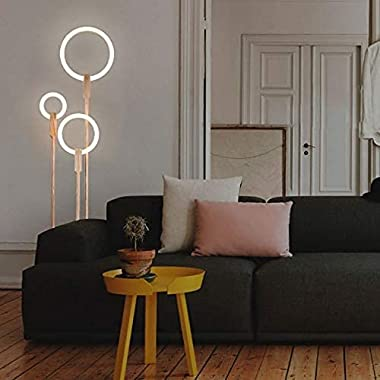 YMLSD Floor Lights,Standing Light Vertical Lamps Lights Nordic Led Living Room Standing Lighting Modern Floor Lights Home Ill
