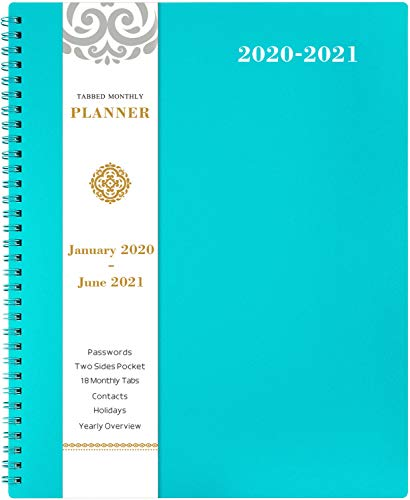 2020-2021 Monthly Planner - 18-M...