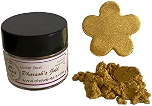 PHARAOH'S GOLD LUSTER DUST (4 grams Net. container) Made in USA