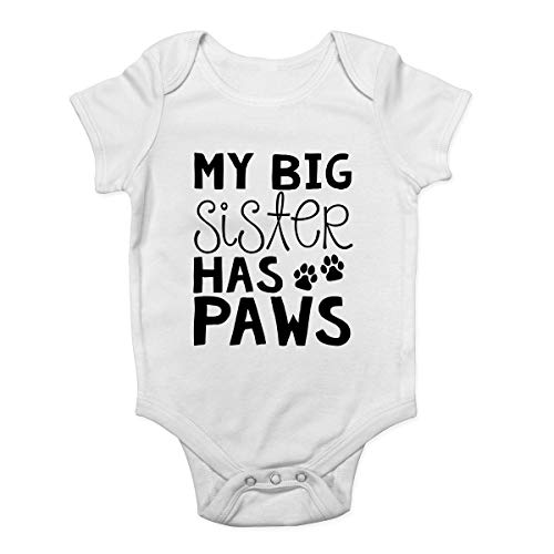 Shopagift Promoted to Big Sister Baby Sleepsuit Romper