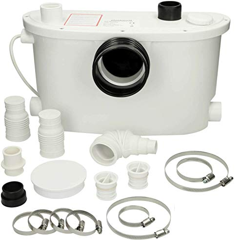 Sanigo SANI600 Powerful Macerator Waste Water Pump Sanitary 3//1 Inlets for WC Sink Bath 600W