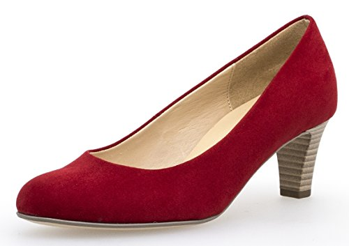 Gabor Damen Pumps , Gr.-40 EU /6.5 UK, Rot