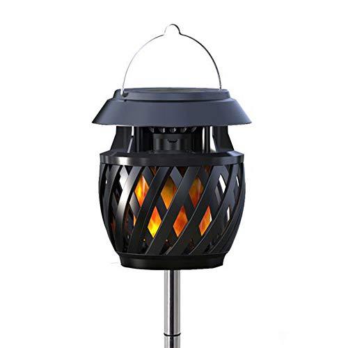 Luces solares al Aire Libre, jardín de trayectoria de luz de Poste de Linterna LED Decorativa, clasificación Impermeable IP65 para una fácil instalación y Mantenimiento.