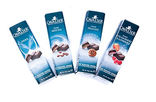 Cavalier - Maltit-Schokoriegel-Auswahl