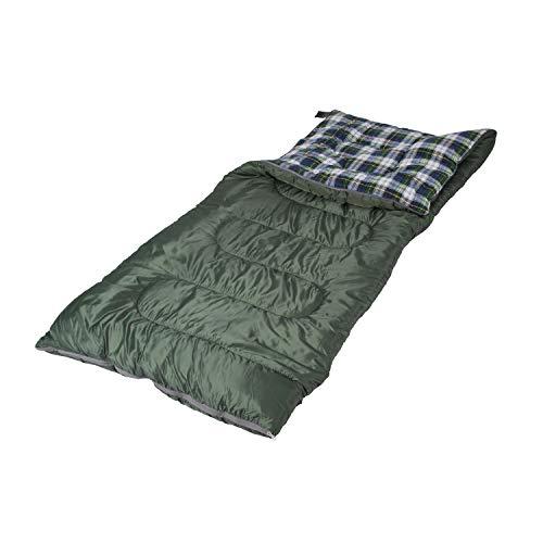 Stansport 524-100 Weekender Sleeping Bag, Blue/Green, 4 lb