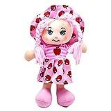 Egosy Obst Rock Hut Lappen Puppen Weich Nette Tuch Stuffe Spielzeug für Baby Pretend Spielen...