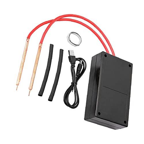 Máquina de soldadura de mano de soldador 18650 Batería Mini Sujetador Soldador Máquina de soldadura para accesorios de reparación de bricolaje para hardware