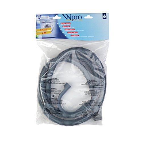 Wpro tvs229 Accessoires – Machine à laver/lave-vaisselle Accessoires droit/(2,0 m), droite tuyau d'écoulement pour lave-linge et lave-vaisselle/universel