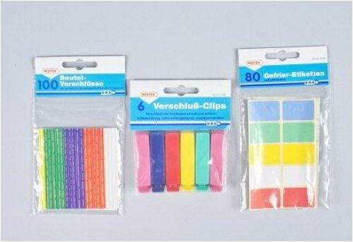 MM Spezial - Cierre de alambre para bolsas (100 unidades)
