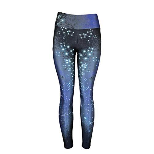 Femmes Leggings de Yoga Sport Malloom Base Taille Haute Élastique Running Gym Pantalons S-XL
