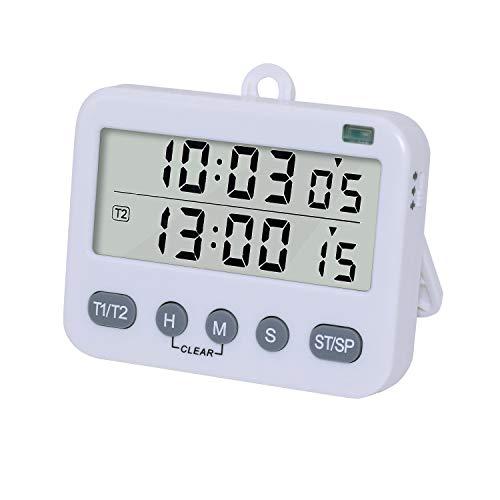 Temporizadores Cocina Digital Duales Reloj Despertador