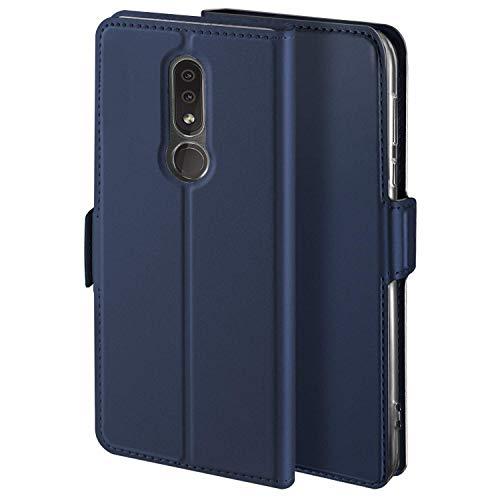 HoneyHülle für Handyhülle Nokia 4.2 Hülle Premium Leder Flip Schutzhülle für Nokia 4.2 Tasche, Blau