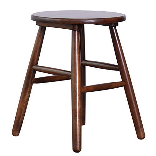 Chaises de réception Sgabello sgabello en Legno massello sgabello Basse en Gros Morceaux, en Gros Morceaux, en Gros Morceaux, en Gros Morceaux, en Morceaux (Color : Wood, Size : 35 * 35 * 45cm)
