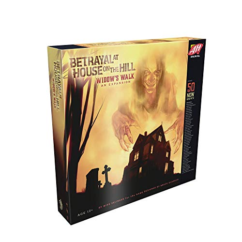 Avalon Hill / Wizards of the Coast c01410000–Betrayal at House On The Hill: Widow' S Walk–Inglese