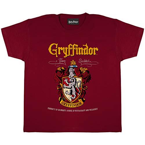 Harry Potter Cresta de Gryffindor Camiseta de los Muchachos | mercancía Oficial 17