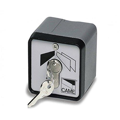 CAME 001SET-EN - Selettore per chiave verticale con alloggiamento in lega di alluminio e cilindro di bloccaggio DIN.