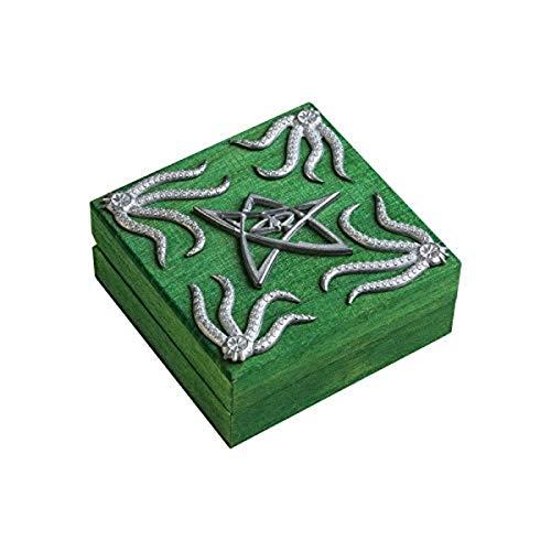 Baú de dados verde Cthulhu