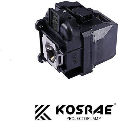 KOSRAE for ELPLP87 / V13H010L87 Replacement Lamp Bulb for Epson BrightLink 536Wi / PowerLite 520 525W 530 535W / EB-520 EB-525W EB-530 EB-530S EB-535W EB-536Wi Projector