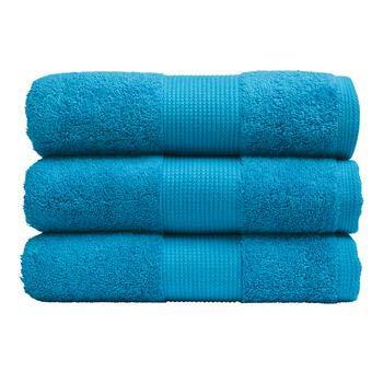 Jalla Éponge Extrasoft 560 g/m² 100 % pur coton Finition Bouclée Serviette de haute qualité (Paradis, 60 x 110 cm)