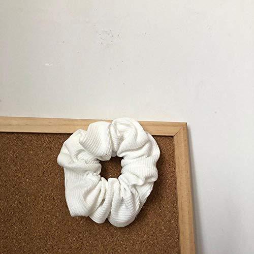 Rétro Treillis Gros intestin épingle à Cheveux élastique Cheveux Doux Corde sans Couture Queue de Cheval Tenant en épingle à Cheveux Fille Accessoires