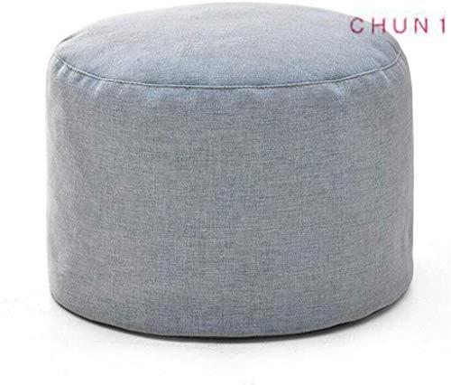 CHU N1 Pouf Cube Bean Bag Sitzbank, Abnehmbare Reißverschluss Slipcover Home Goods Indoor Outdoor 13 × 8.7inch (Size : 3)