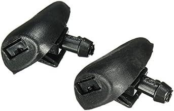 FeLiCia Par Parabrisas Ventana Limpiador De Agua Arandela Chorros Boquilla para Peugeot 407 6438Z1