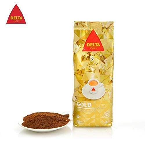 Delta - Gemahlener Kaffee Gold Portugiesischer Kaffee Sensations für Maschine 250gr