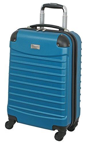 Geoffrey Beene 20 Inch Hardside Vertical Luggage, Teal