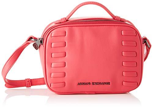 ARMANI EXCHANGE Small Crossbody Bag - Borse a tracolla Donna, Rosa (Under The Skin), 14x7x19 cm (B x H T)