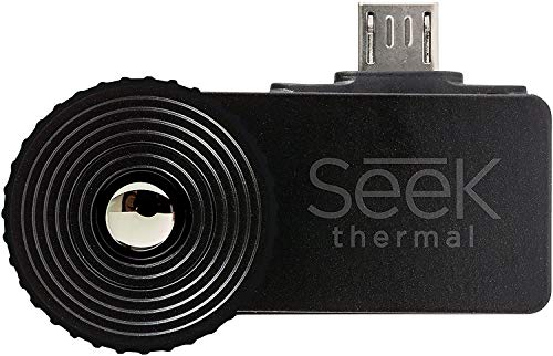 Seek Thermal CompactXR – Outdoor Thermal Imaging Camera for Android MicroUSB, Black (UT-AAA)