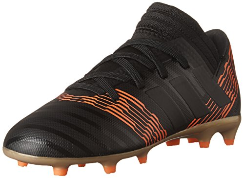 adidas Boys' Nemeziz 17.3 FG J, core Black/Solar red, 4.5 M US Big Kid